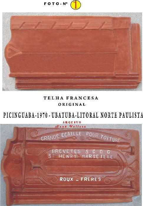 Telha francesa (original) - Imagem: © Arquivo Nenê Velloso