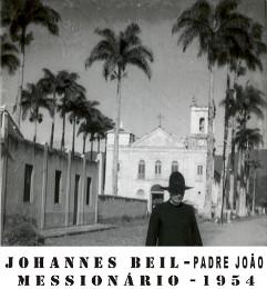 O missionário Johannes Beil, conhecido como `padre João´. - Imagem: © Arquivo Nenê Velloso