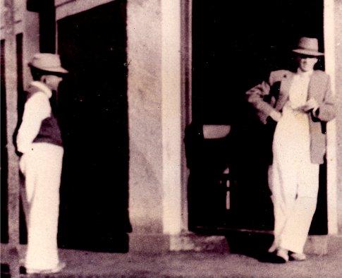 Capitão Deolindo e José Bruno Rodrigues. - Imagem: © Arquivo Nenê Velloso